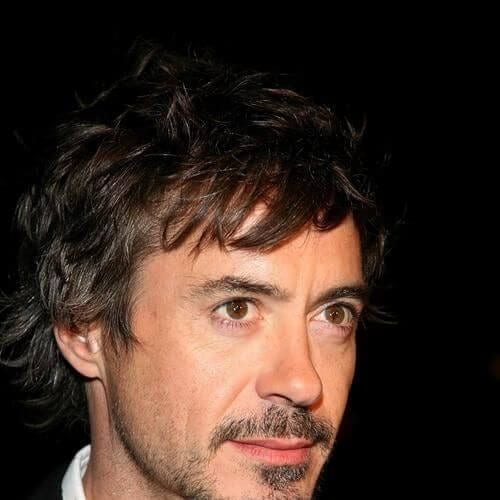 medium bangs robert downey jr haircut