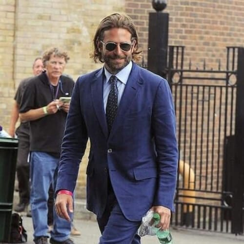 medium bradley cooper hairstyles