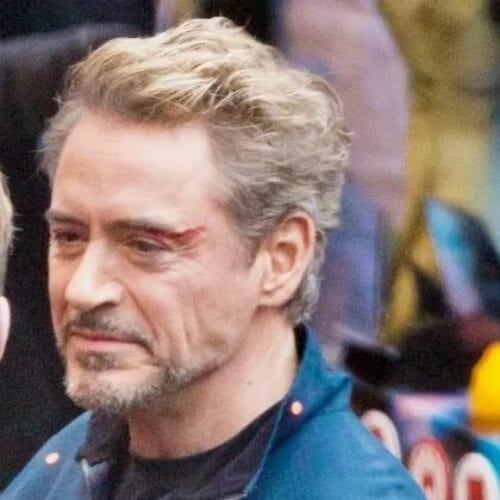 New Iron Man Robert Downey Jr Haircut