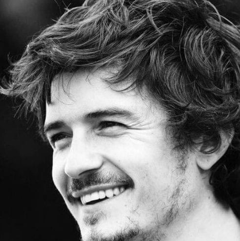 orlando bloom hairstyles with beard