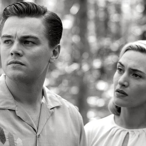 revolutionary road leonardo dicaprio hairstyles