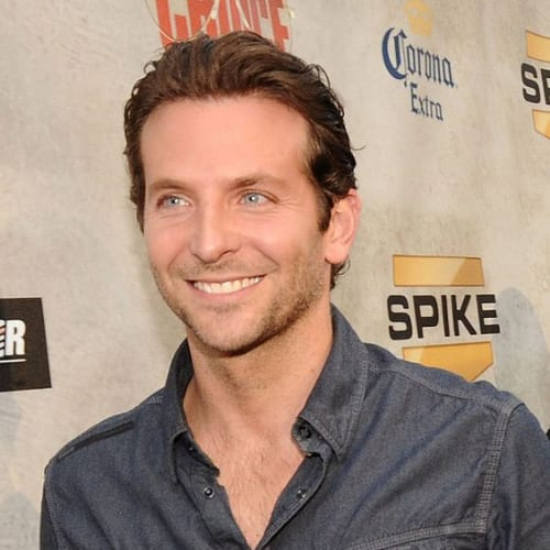 short comb over bradley cooper hairstyles