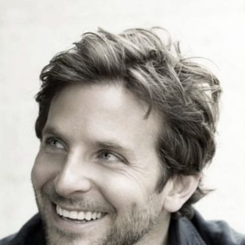 short layered bradley cooper hairstyles