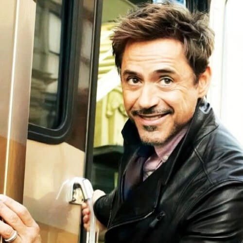 side swept bangs robert downey jr haircut