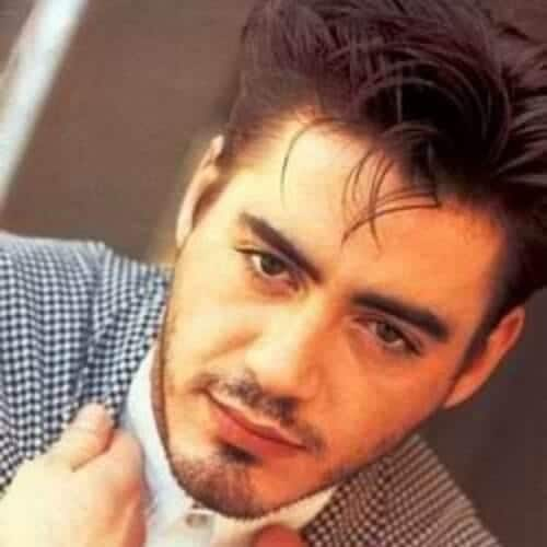 strands robert downey jr haircut