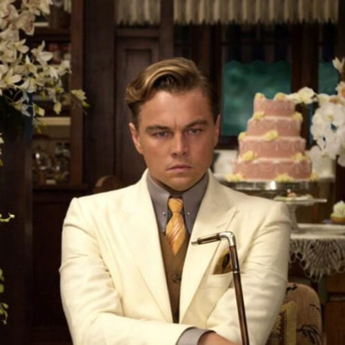 the great gatsby leonardo dicaprio hairstyles