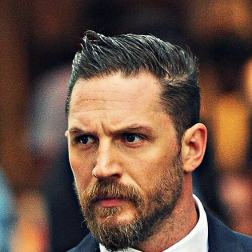 tom hardy hairstyles with beard