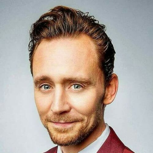 tom hiddleston hairstyles with beard