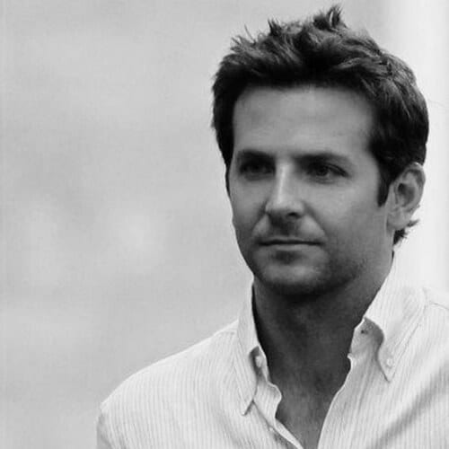volumized bradley cooper hairstyles