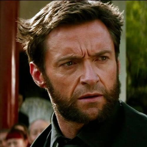 wolverine hairstyles with beard