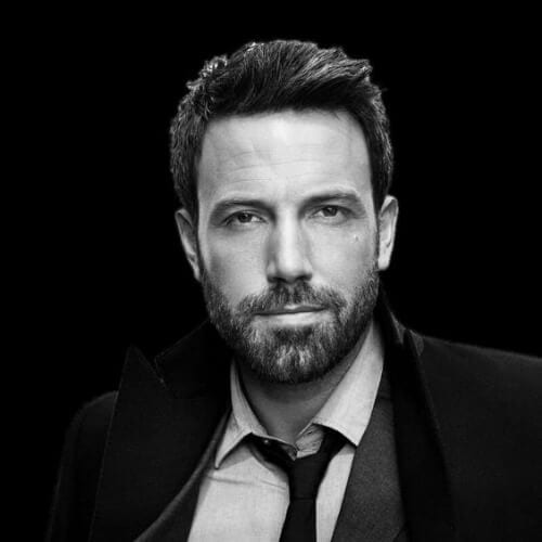 ben affleck mens hairstyles for oval faces