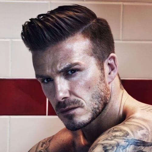 david beckham popular hairstyles for men