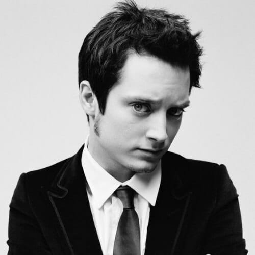 elijah wood mens hairstyles for oval faces