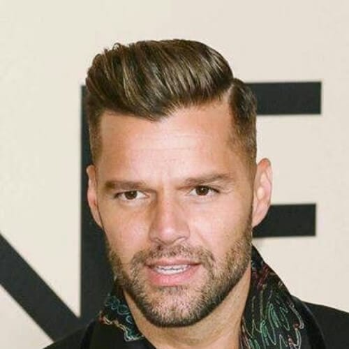 hard part ricky martin haircut