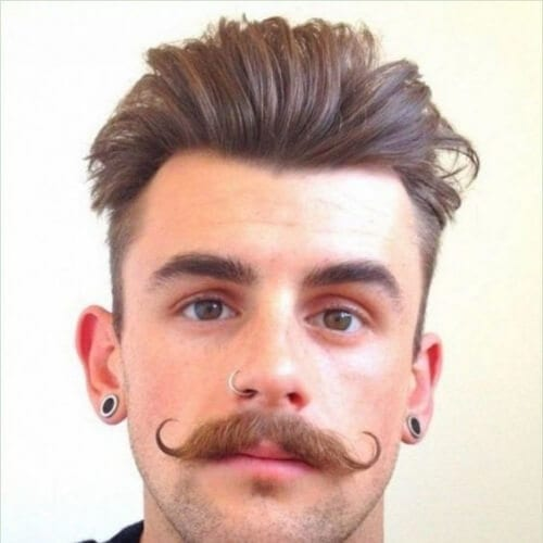 hipster mens hairstyles for oval faces
