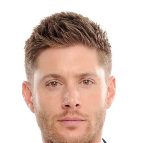 jensen ackles mens hairstyles for oval faces
