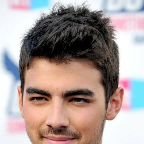 joe jonas mens hairstyles for oval faces