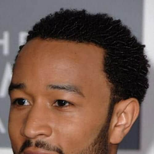 john legend short haircuts or black men