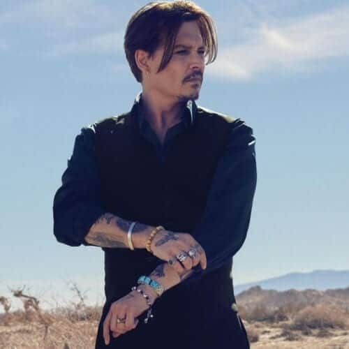 johnny depp popular hairstyles for men dior homme
