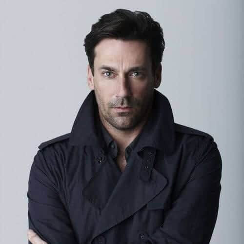 jon hamm mens hiarstyles for oval faces