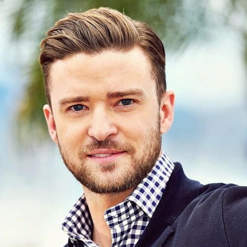 justin timberlake mens hairstyles for oval faces
