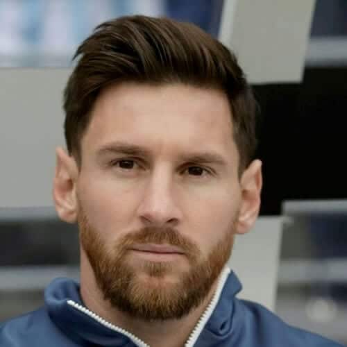 lionel messi mens hairstyles for oval faces