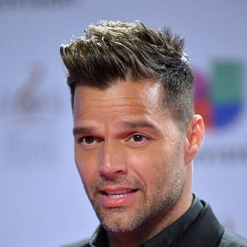 ricky martin hair style 45 handsome ricky martin haircut ideas 1808 | long spikes ricky martin haircut