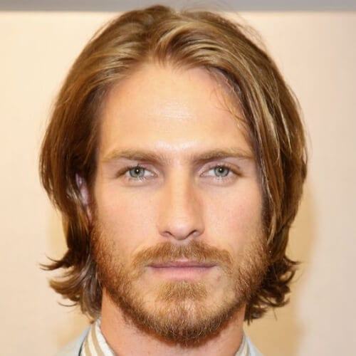 medium mens hairstyles for oval faces