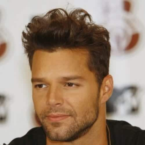 natural ricky martin haircut