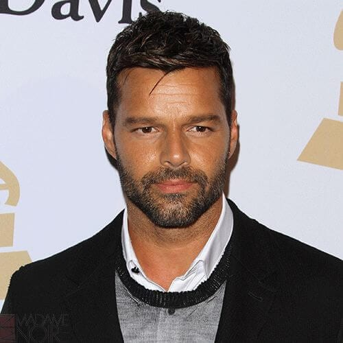 off duty ricky martin haircut