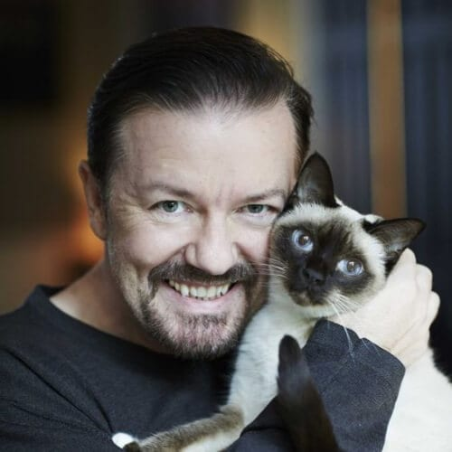 ricky gervais goatee styles
