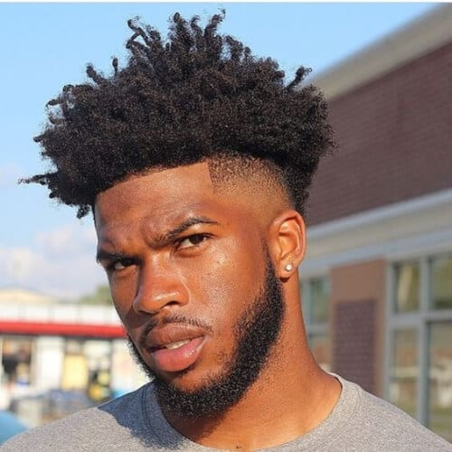 taper fade short haircuts for black men