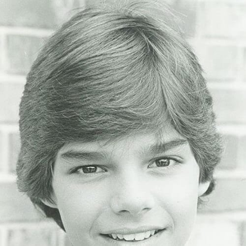teenager ricky martin haircut