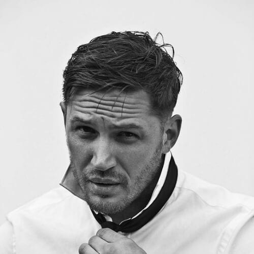 tom hardy mens hairstyles for oval faces