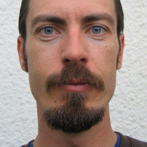 Mustache and goatee combo