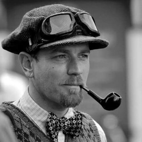 Ewan Gordon McGregor TWEED RUN London 2011 mustache and goatee styles