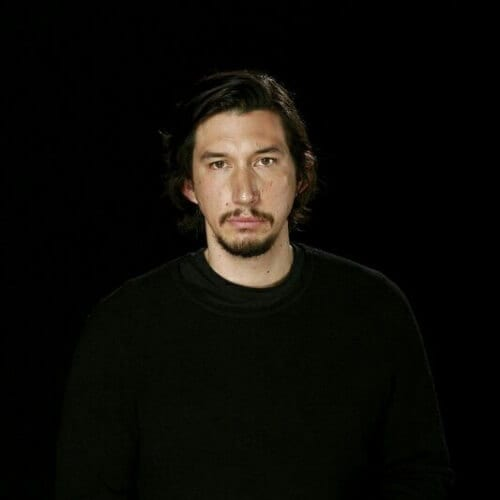 adam driver mustache and goatee styles