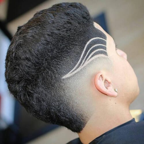 aerodynamic hair designs for boys