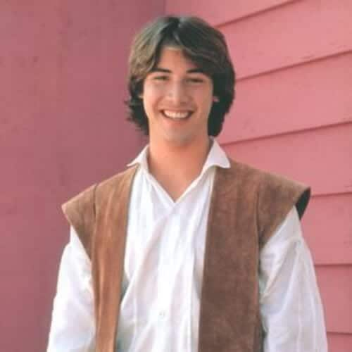 babes in toyland keanu reeves hair