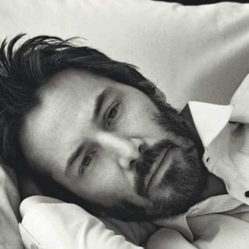 bed head keanu reeves hair