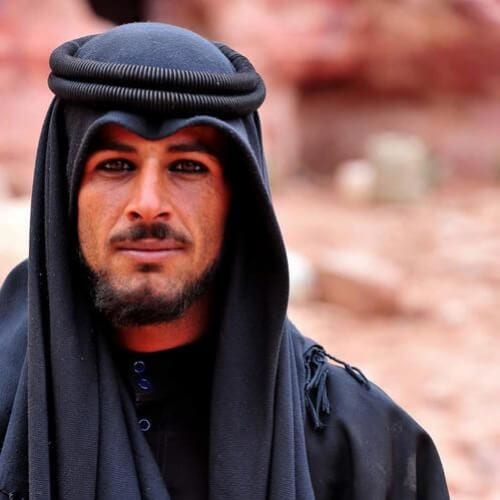 bedouin man mustache and goatee styles