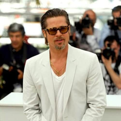 brad pitt summer hairstyles for men