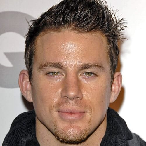 channing tatum mustache and goatee styles