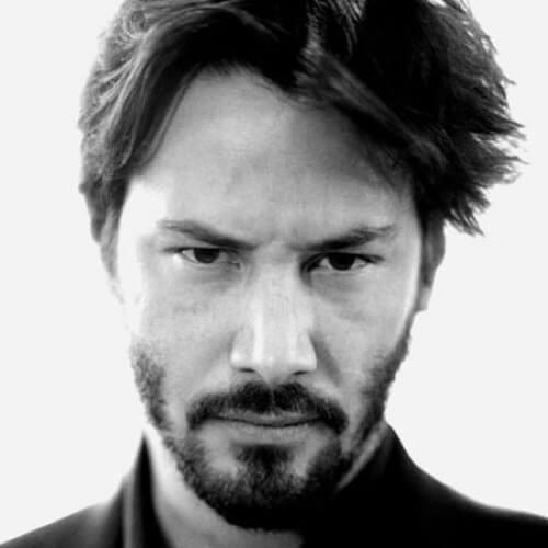 choppy keanu reeves haircut