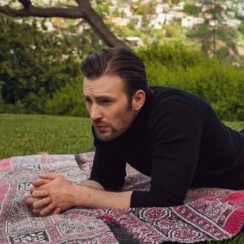 chris evans summer hairstyles for men