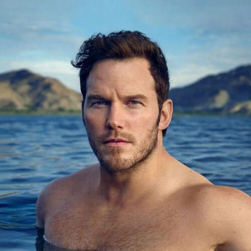 chris pratt summer hairstyles for men
