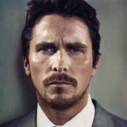 christian bale mustache and goatee styles