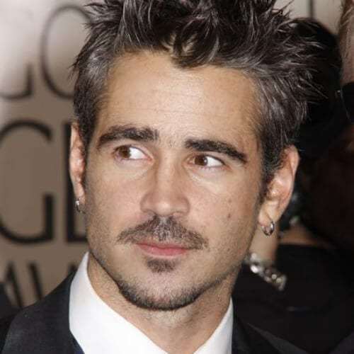 colin farrell mustache and goatee styles