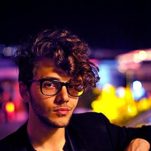 curly summer hairstyles for men