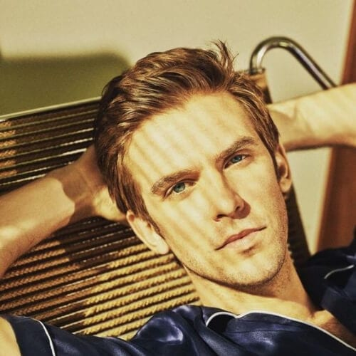 dan stevens summer hairstyles for men